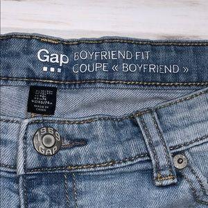 Gap Distressed Boyfriend Jeans